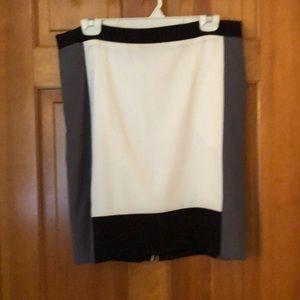 Narciso Rodriguez Color Block skirt Sz. 12